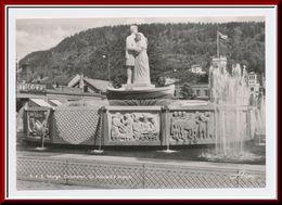 ★★ DRAMMEN. St. HALVARD`S BRØNN STPL DRAMMEN 1956 ★★ DRAMMEN. Religious Statues. BUSKERUD NORWAY  ★★ - Norway