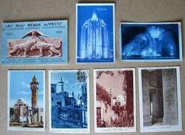 LOT 100 CPA Exposition Coloniale Internationale De PARIS 1931 + Carnet De 5 Cartes- (Toutes Scannées, Quelques Doubles) - Exhibitions