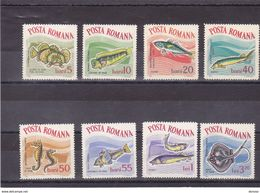 ROUMANIE 1964 POISSONS Yvert 2001-2008 NEUF** MNH - 1948-.... Républiques