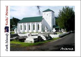 Cook Islands Rarotonga Avarua Church New Postcard Cookinseln AK - Eglises Et Cathédrales