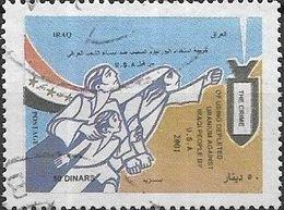 IRAQ 2001 Tenth Anniversary Of Gulf War - 50d - Flag And Family FU - Iraq