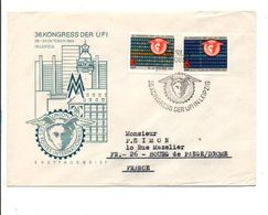 ALLEMAGNE RDA DDR LETTRE FDC DE BERLIN POUR LA FRANCE 1969 - Lettres & Documents