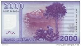 CHILE P. 162a 2000 P 2009 UNC - Chile