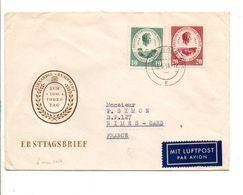ALLEMAGNE RDA DDR LETTRE FDC DE DRESDE POUR LA FRANCE 1959 - [6] République Démocratique