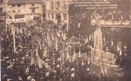 Cours, Inauguration Du Monument Aux Morts - Cours-la-Ville