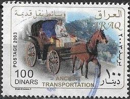 IRAQ 2004 Transportation - 100d - Horse-drawn Cab FU - Irak