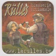Sous Bocks De Biere De La  Brasserie LA RULLES Théme BD - Sotto-boccale