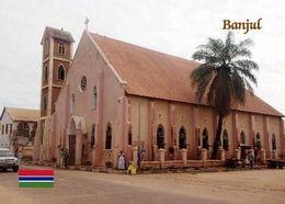 Gambia Banjul Cathedral New Postcard - Eglises Et Cathédrales