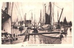 FR29 CONCARNEAU - Les Bateaux De Pêche - Animée - Belle - Concarneau