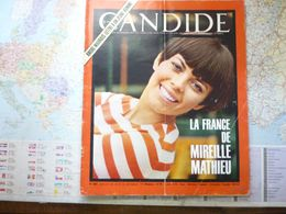 Le Nouveau Candide N° 283 19 Septembre 1966 La France De Mireille Mathieu / André Maurois : Lettre à Un Jeune Homme - General Issues