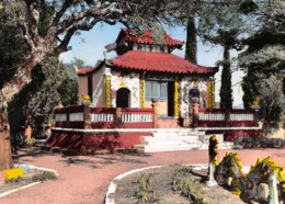 FREJUS La Pagode Indochinoise  Bouddhique, Religion Bouddhisme,temple,fréjus   (scan Recto-verso) Ref 0973 - Frejus