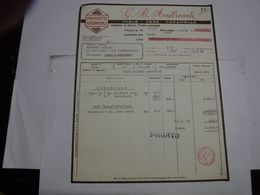 RONAGO     --- COMO ---  G.B. AMBROSOLI --- MIELE  -CERE - Italië
