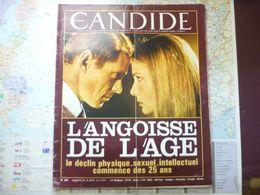 Le Nouveau Candide N° 283 26 Septembre 1966 L'angoisse De L'age : Le Déclin ... Commence Dès 25 Ans - General Issues