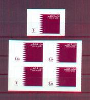 Qatar 2012 - Qatar Flag - Adhesive Stamps - Stamps 5v - Complete Set - MNH** Excellent Quality - Qatar