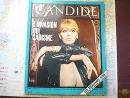 Le Nouveau Candide N° 284 3 Octobre 1966 L'invasion Du Sadisme / Les Meilleurs Jobs Dans Les 10 Années Qui Viennent - General Issues
