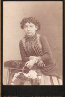 Photo CDV / Photographie Mme Meurisse, Béziers 1880 ( Gd Format 16x10) - Ancianas (antes De 1900)
