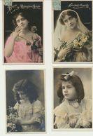 Lôt De 25 Cartes Fantaisie Femme Et Enfants - Photographes Manuel - Sazerac Et Colas - Cartes Postales