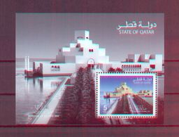 Qatar 2008 - Architecture Of The Islamic Museum Art - Minisheet- MNH** Excellent Quality - Qatar