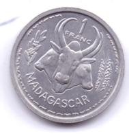 MADAGASCAR 1948: 1 Franc, KM 3 - Madagascar