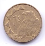 NAMIBIA 2008: 1 Dollar, KM 4 - Namibia