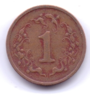 ZIMBABWE 1980: 1 Cent, KM 1 - Zimbabwe