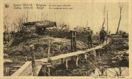 BELGIQUE- Un Petit Poste Retranché - EERST WERELDOORLOG BELGIË BELGIQUE 1914/18 WWI WWICOLLECTION - Weltkrieg 1914-18