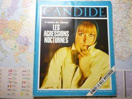Le Nouveau Candide N° 291 21 Novembre 1966 Les Agressions Nocturne:la Hantise Des Femmes/Kennedy : La Balle Mystérieuse - General Issues