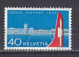 Switzerland 1953 - Airport Zuerich-Kloten, Mi-Nr. 585, MNH** - Suisse