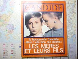 Le Nouveau Candide N° 292 28 Novembre 1966 Les Mères Et Leurs Fils:la Bourgeoisie Française élève-t-elle Bien Ses Enfant - General Issues