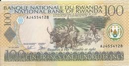 RWANDA 100 FRANCS 2003 UNC P 29 B - Rwanda