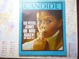 Le Nouveau Candide N° 298 9 Janvier 1967 Ces Petits Jeunes Qui Nous Agacent Que Valent-ils ? - General Issues
