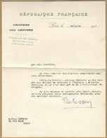 François De Tessan (1883-1944) - Politicien Et Journaliste - Lettre Signée 1934 - Autographes