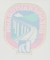 Sticker Auto: Brennerautobahn Duitsland-oostenrijk D-A Raamsticker - Aufkleber