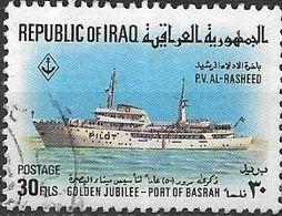 IRAQ 1969 50th Anniversary Of Port Of Basra - 30f - Pilot Boat Al-Rashid FU - Iraq