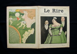 Le Rire Rivista Umoristica Parigi N.346  Anno 7 22 Giugno 1901 Tennis Satira - Books, Magazines, Comics