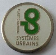 Jeton De Caddie - SYSTEMES URBAINS - PLASTIC OMNIUM - En Métal - - Trolley Token/Shopping Trolley Chip