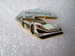 PIN'S   PEUGEOT  905  LE MANS  Arthus Bertrand - Peugeot