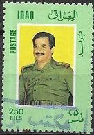 IRAQ 1986 Pres. Hussain - 250f - Multicoloured FU - Iraq