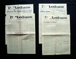 Il Reduce Prigionia Di Como1946  Quattro Numeri 4 8 10 14 Gennaio Febbraio Marzo - Books, Magazines, Comics