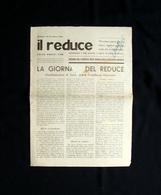 Il Reduce Prigionia Di Brindisi 16 Dicembre 1945 Ricordi Reduce Dall'Egeo - Libri, Riviste, Fumetti