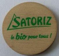 Jeton De Caddie - SATORIZ - Le Bio Pour Tous ! - FSC - Forest Stewardship Council - En Bois - - Trolley Token/Shopping Trolley Chip