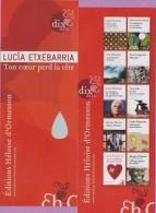 Marque-page °_ Heloise D'Ormesson - L. Etxebarria Ton Coeur Perd La Tête 6x16 - Bookmarks