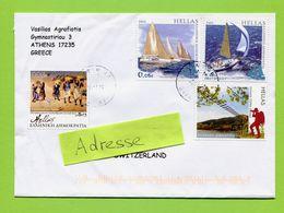 Griechenland,  Hellas 2014   To Switzerland - Greece