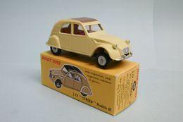 Dinky Toys / Atlas - CITROEN 2CV 1961 Modèle 61 Réf. 558 Neuf NBO 1/43 - Dinky