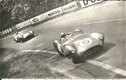 -  LE MANS - Circuit De La Sarthe- Les 2 Vainqueurs Dans Un Virage - Voyagée En 1962 - Le Mans