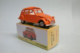 Dinky Toys / Atlas - CITROEN 2CV Orange Réf. 011500 Neuf NBO 1/43 - Dinky