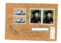 Lettre Recommandée Antibes Sur Le Bon Canoe - Marcophilie (Lettres)