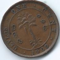 Ceylon - Victoria - 1900 - 1 Cent - KM92 - Sri Lanka