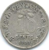 Ceylon - Victoria - 1900 - 10 Cents - KM94 - Sri Lanka