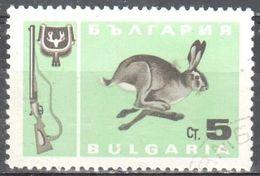 Bulgaria - Rabbit - Hare - Hunting Gun - - Postzegels